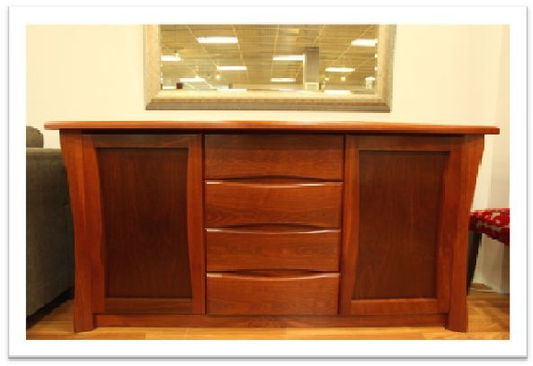 Belmont Buffet - in blackwood timber, clear finish