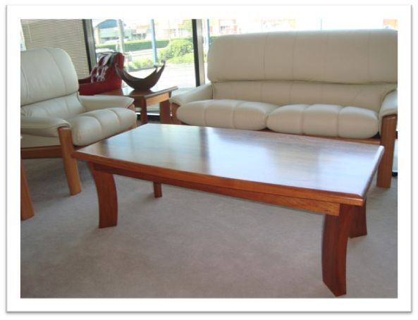 Johnson Coffee Table - in blackwood, clear finish